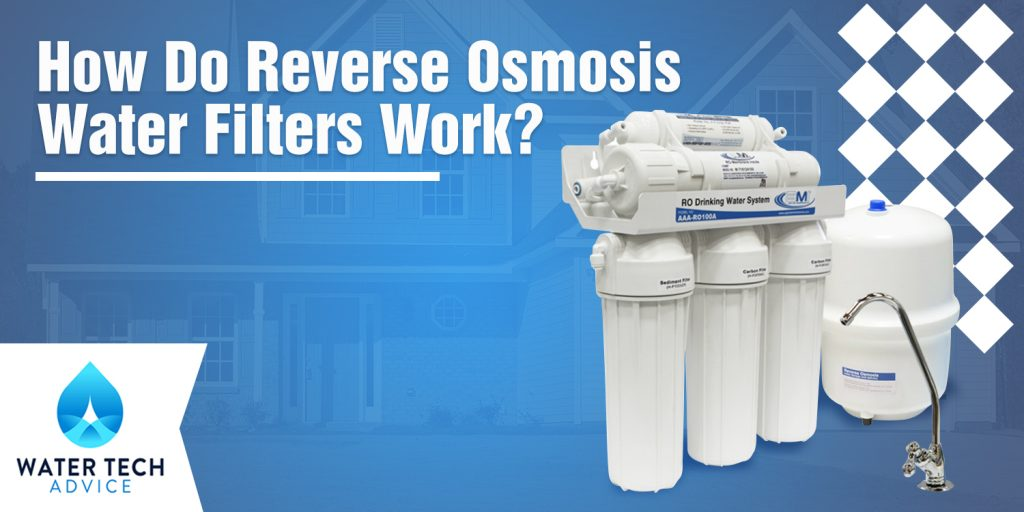 how do reverse osmosis filters work