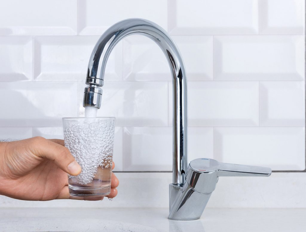 home tap water
