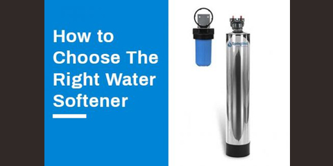 how to choose water softener