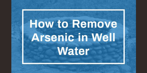 how to remove arsenic in well water