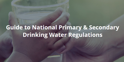 national primary and secondary drinking water regulations